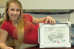 Nicole Manzo takes the cake in design contest