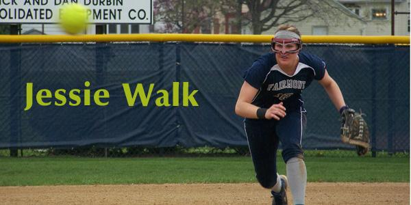 Jessie Walk throws in a pitch against Vandalia Butler on Friday, March 15. Fairmont won 5-4.