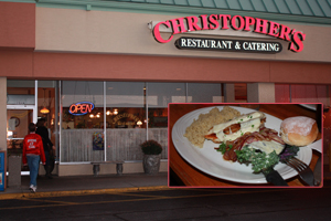 Laid-back Christopher's offers wide variety of excellent food