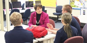 Lehner gets a crash course on how FHS serves its students
