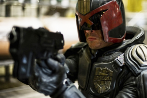 Brutal 'Dredd' offers plenty of action … with helmet intact