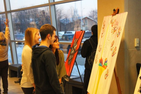 The N2 Art Exhibit shows off district's artistic talent