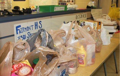 Firebirds donate to Food Drive to help fill hungry stomachs