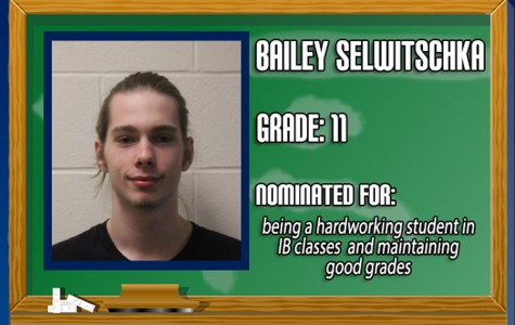 February Student of the Month: Bailey Selwitschka