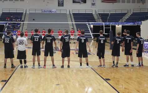 Boys' Volleyball v. Carroll