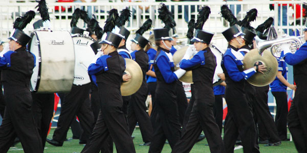 Marching Firebirds march their way to excellence