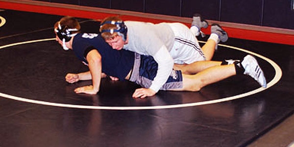 Kimbrell has passion to succeed on mat and in life