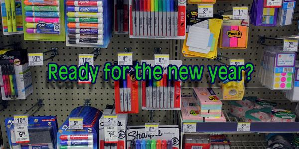 Buying school supplies becomes chore for teens, parents
