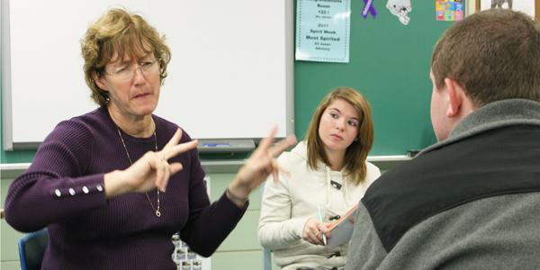 Interpreters help deaf students overcome challenges