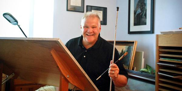 Wayne Taylor remembered for his art ... and his heart