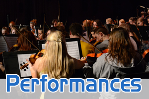 Fairmont bands performing contest concerts