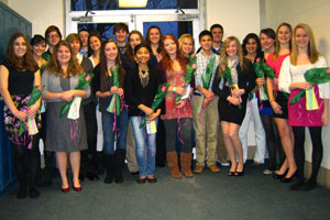 Spanish National Honor Society selects new members