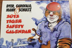 FHS students artwork featured in TIGER calendar