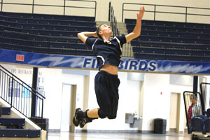 Boys' VB overcomes inexperience to succeed, set records
