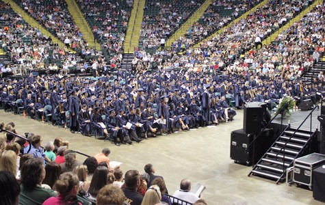 Commencement caps high school career for Class of '12