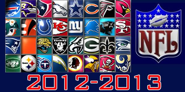A compilation of this years National Football League teams for 2012-2013. (Photo Illustration: Lindsay Breslin)