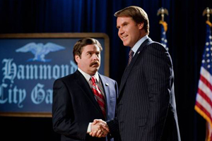 Comedy duo Ferrell and Galifinakis disappoint in 'The Campaign'