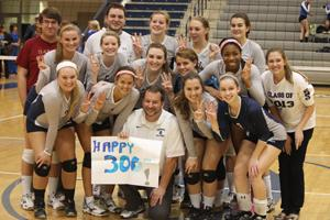 FHS coach spikes his way into the record books with milestone win