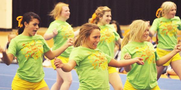 Competition Cheer team flips at the idea of winning Nationals