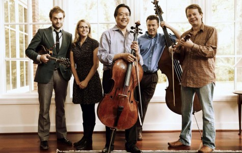 From Left to Right: Chris Thile, Aofie O'Donovan, Yo-Yo Ma, Edgar Meyer, Stuart Duncan