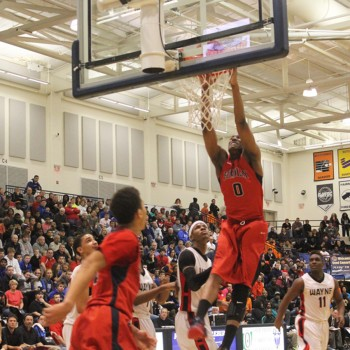 Flyin' to the Hoop at Trent Arena