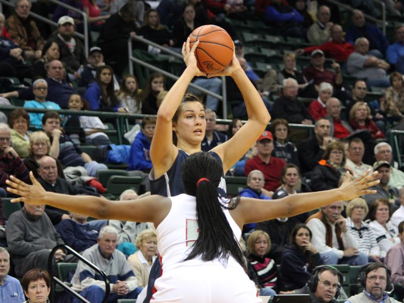 Fairmont senior Kathryn Westbeld is the first Fairmont High School student to be named a McDonald's All American.
