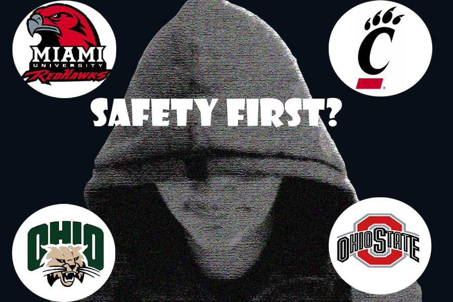 Students attending colleges in Ohio must recognize that crime happens on and near campus and they have to take precautions.