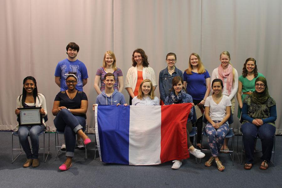 French National Honor Society inducts 18 juniors