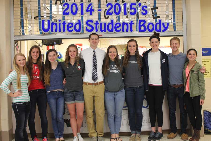 The+2014-15+USB+members+are+%28from+left%29%3A+Morgan+Joly%2C+Olivia+Davis%2C+Courtney+Carpenter%2C+Evan+Bartlett.+Jacob+Maloney%2C+Olivia+Ries%2C+Holly+Mercs%2C+Ashley+Mercs%2C+Eric+Turner+and+Sarah+Grossman.
