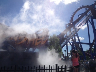 The Banshee is Kings Islands newest attraction featuring many drops, loops and spirals in an attempt to make even the highest thrill seekers scream. But this reviewer wanted to scream after spending so much time in line.