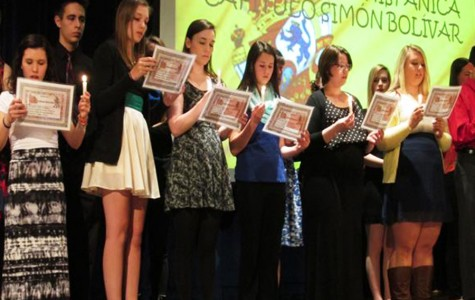 Spanish Honor Society inducts 20 new members