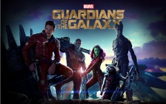Marvel's new team of superheroes comes together in the new film, 'Guardians of the Galaxy.' From left to right: Peter Quill, Drax the Destroyer, Gamora, Rocket and Groot.