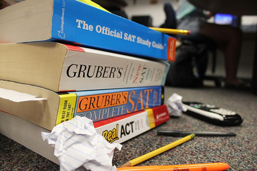 Fairmont juniors and seniors spend long hours studying for standardized tests like the SAT, ACT, and the PSAT.