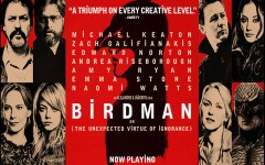 Official movie poster for 'Birdman,' a film by Alejandro Iñárritu.