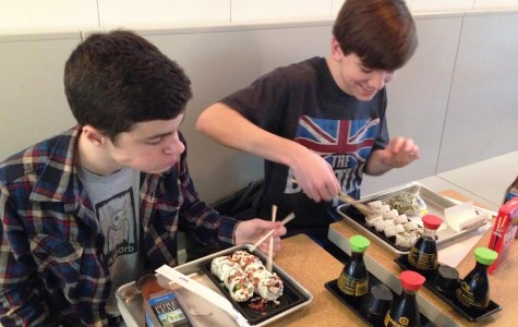 Flyer staffers roll into new sushi restaurant