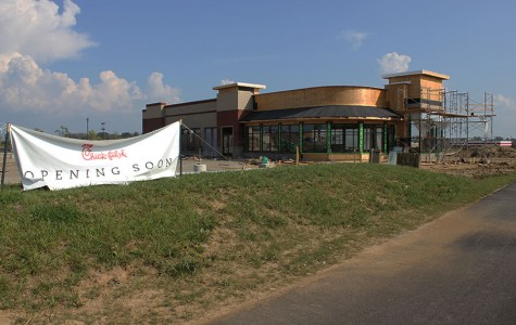 Chick-fil-a soon to open and is a part of Cornerstone of Centerville