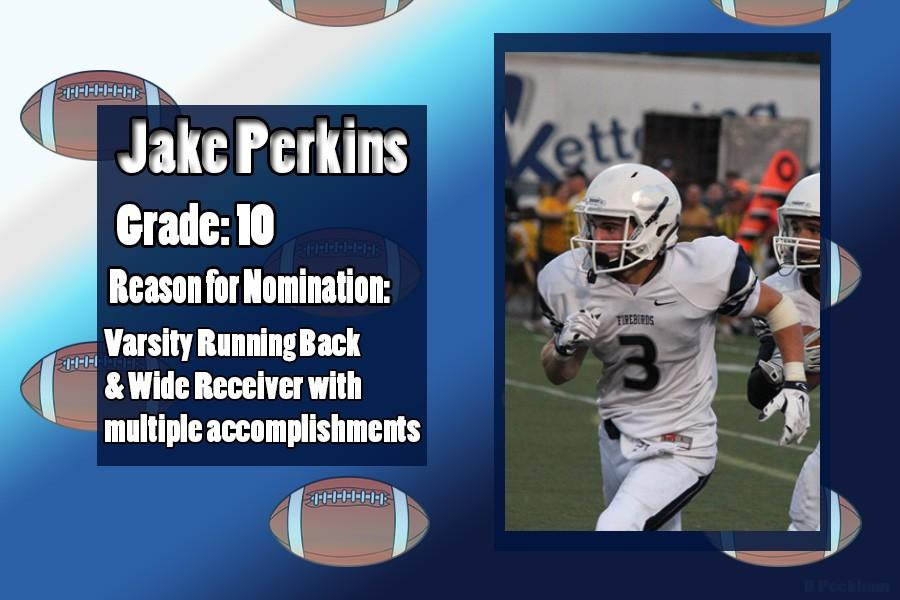 Jake+Perkins+is+October%27s+Athlete+of+the+Month+for+his+accomplishments+being+a+Varsity+football+player%2C+%233.+%28Edit+by+Brittany+Peckham%29