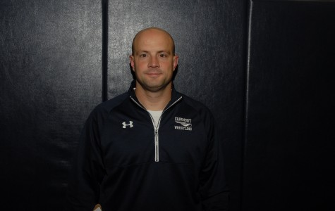 Head wrestling coach, Frank Baxter, completes his 18th season at the helm of the program.