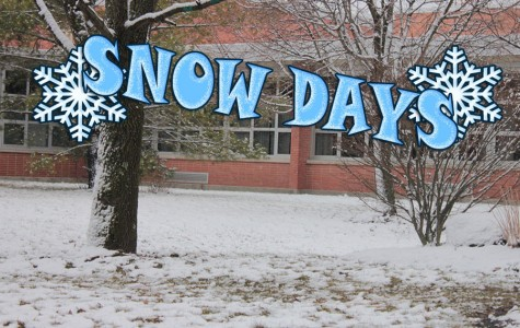 Snow day decision making causes confusion among people in the Kettering community.   [Graphic by Brittany Peckham]