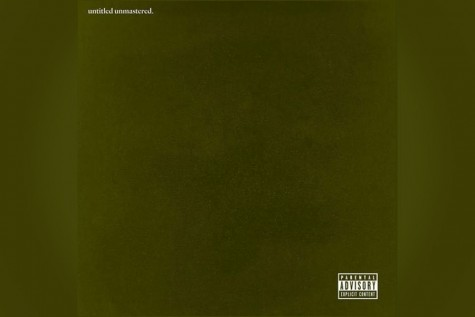 "The ""untitled unmastered."" album cover"