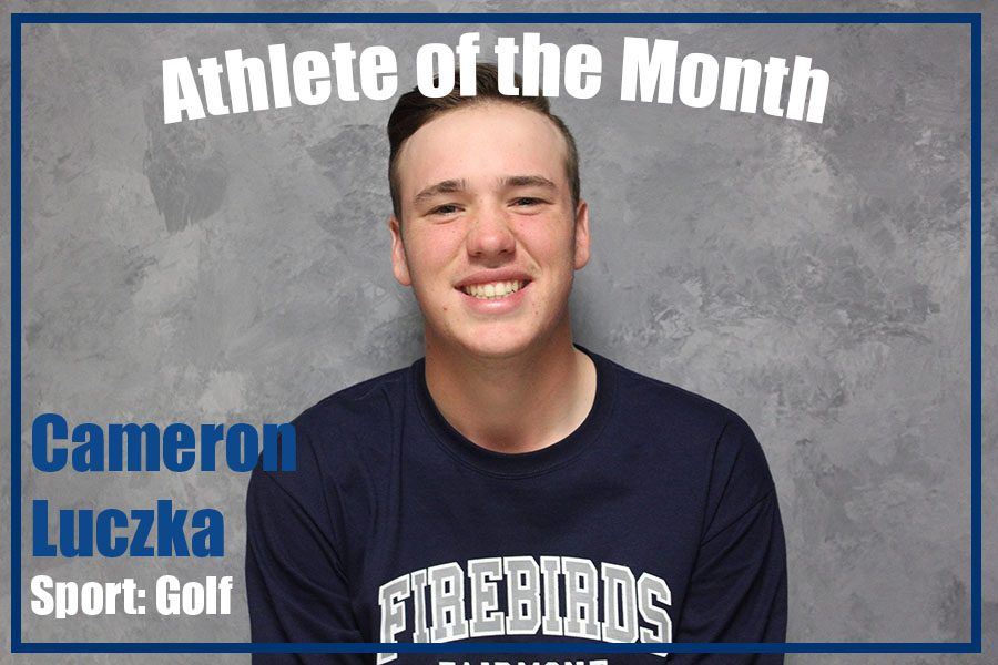September Athlete of the Month: Cameron Luczka