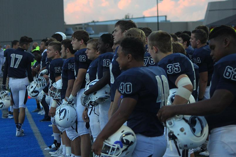 The Fairmont Firebirds anticipate action against Miamisburg Vikings.