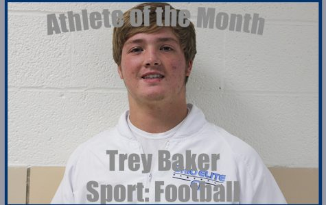 November Athlete of the Month: Trey Baker