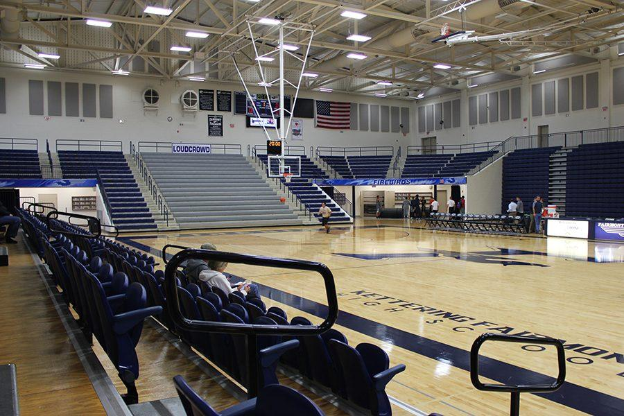 Trent Arena before the annual Firebird Madness.