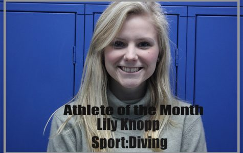 March Athlete of the Month: Lily Knopp