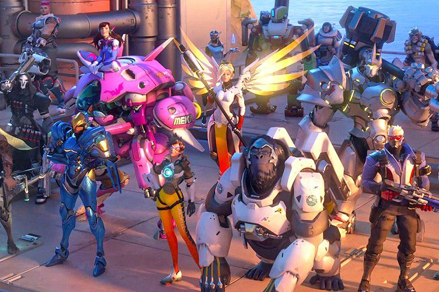 The+heroes+in+Overwatch+continue+to+grow+in+popularity+in+the+gaming+world.