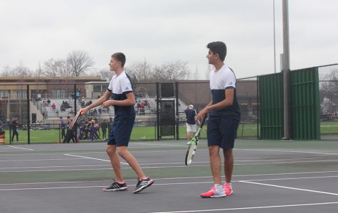 Boys Varsity Tennis v. Oakwood
