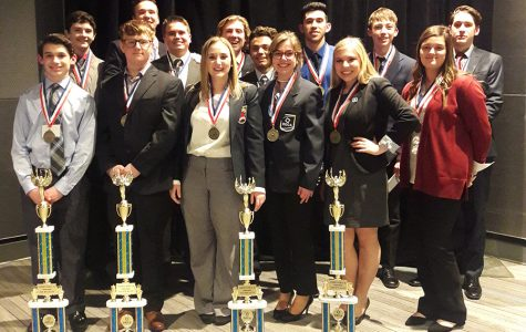 Fairmont DECA State Finalists