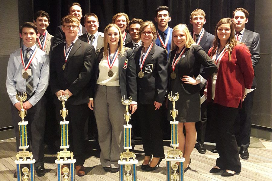 Fairmont DECA district winners compete at state level in Columbus.