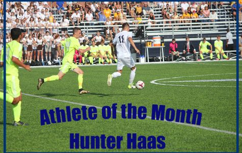 Athlete of the month: Hunter Haas